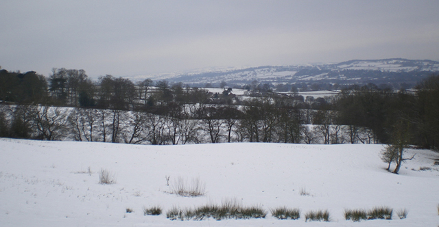 Derwent Valley in winter - Anne Powers 2009